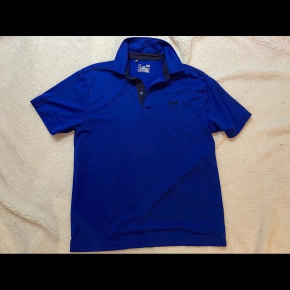Size 0-3 mo Baby Boys Under Armour Playoff Polo Shirt New Heat Gear; Orange